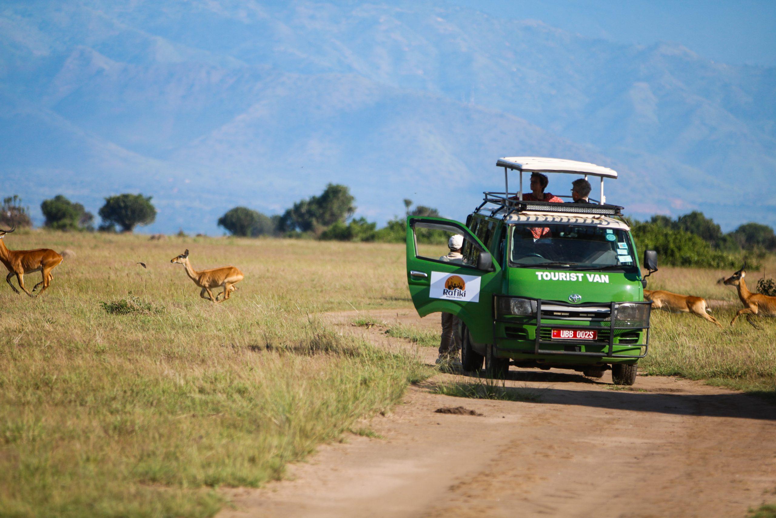 Oeganda-safari-landschap