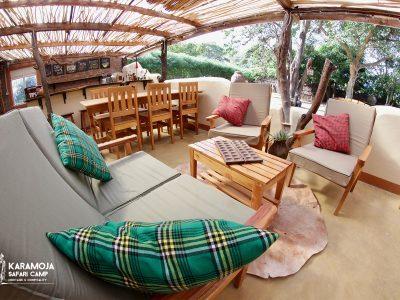 karamoja-safari-camp restaurant